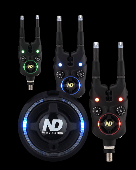 New direction bluetooth wireless bluetooth bite alarm set for K9 fishing line